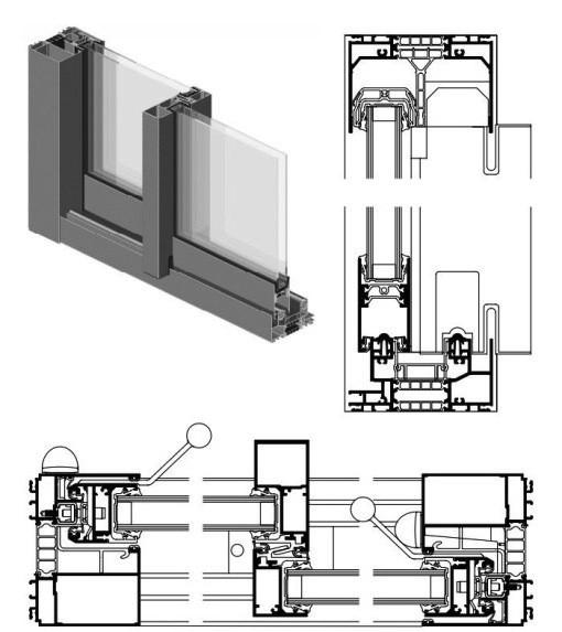 fen tre technal ouvrant cach technal menuiserie alu. Black Bedroom Furniture Sets. Home Design Ideas