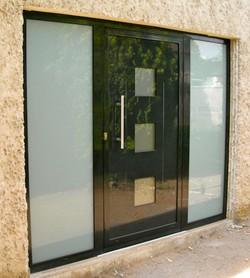 Pose et installation de menuiserie aluminium technal en for Installation fenetre aluminium