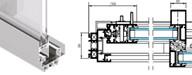 porte technal soleal py fabricant europ en technal menuiserie alu espagne schuco lumeal baie. Black Bedroom Furniture Sets. Home Design Ideas