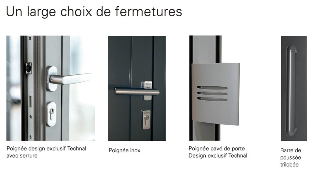 Porte Technal Soleal Py Fabricant Europeen Technal Menuiserie